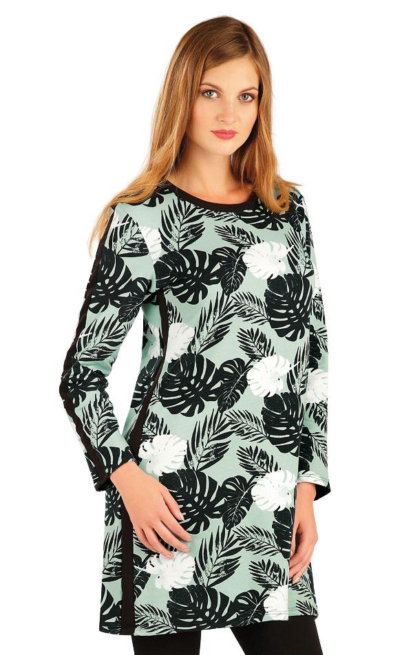 Mikinové šaty dámské s dlouhým rukávem. 60292 | Športové oblečenie -  zľava LITEX