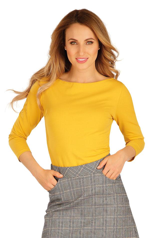 Tričko dámske s 3/4 rukávom. 60306 | Športové oblečenie -  zľava LITEX