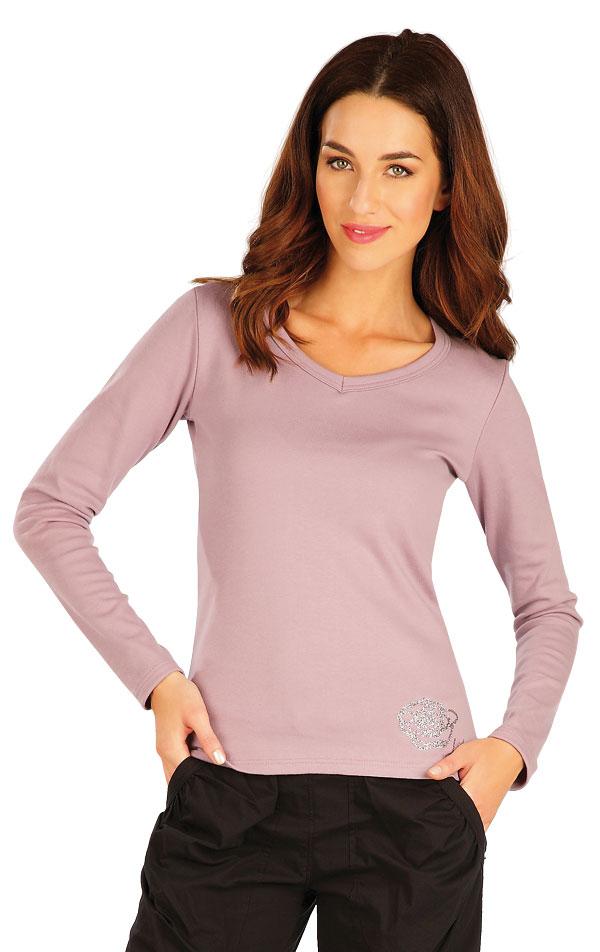 Tričko dámske s dlhým rukávom. 60313 | Tielka, trička, halenky LITEX