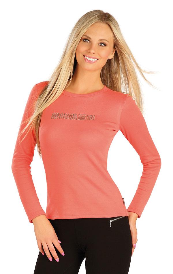 Tričko dámske s dlhým rukávom. 60372   Tielka, trička, halenky LITEX