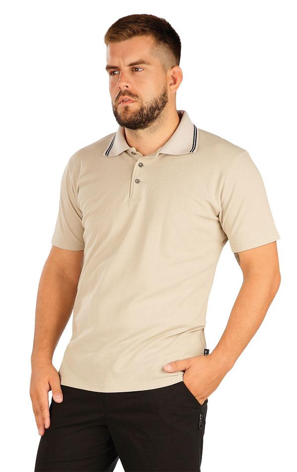 Polo tričko pánske s krátkym rukávom. 60383 | Trička, tielka LITEX