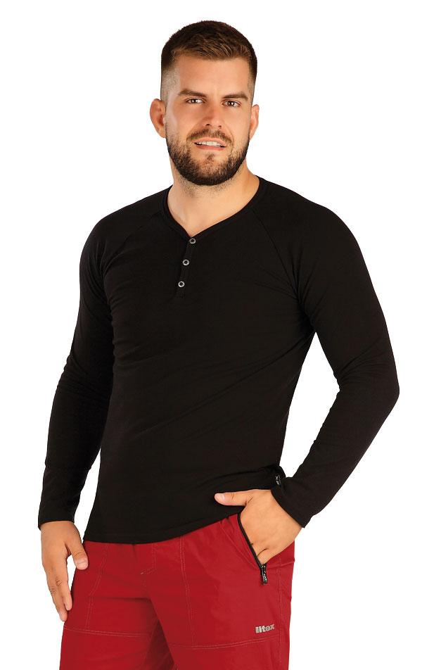 Tričko pánske s dlhým rukávom. 60392   Trička, tielka LITEX