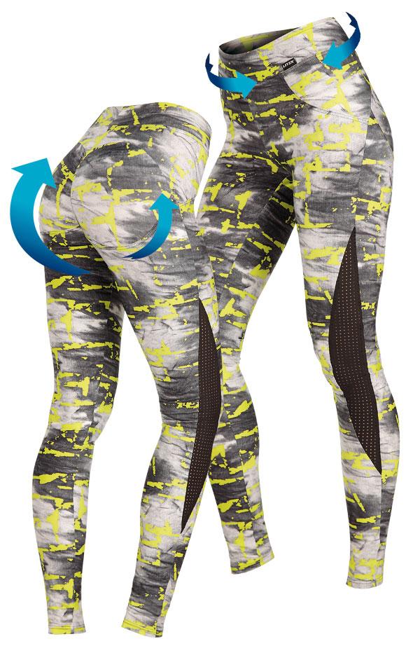 Push-up legíny dámske dlhé. 60431 | Športové oblečenie -  zľava LITEX
