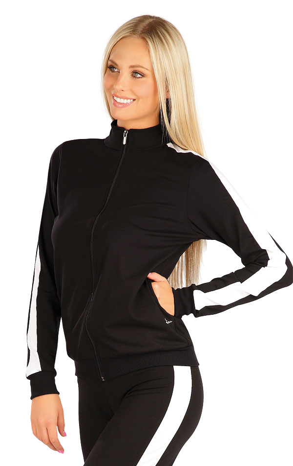 Mikina dámska na zips. 60475 | Vesty a bundy LITEX