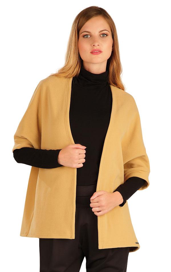 Fleecový cardigan s netopierim rukávom. 60495 | Športové oblečenie -  zľava LITEX
