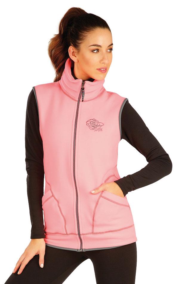 Fleecová vesta dámska. 60501 | Vesty a bundy LITEX