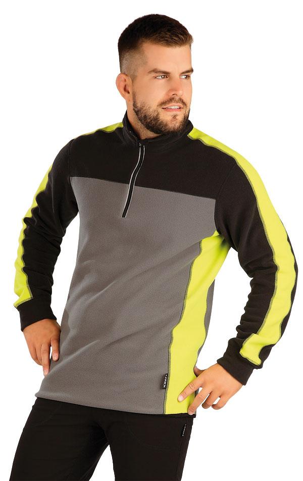 Fleecová mikina pánska. 60511 | Športové oblečenie -  zľava LITEX