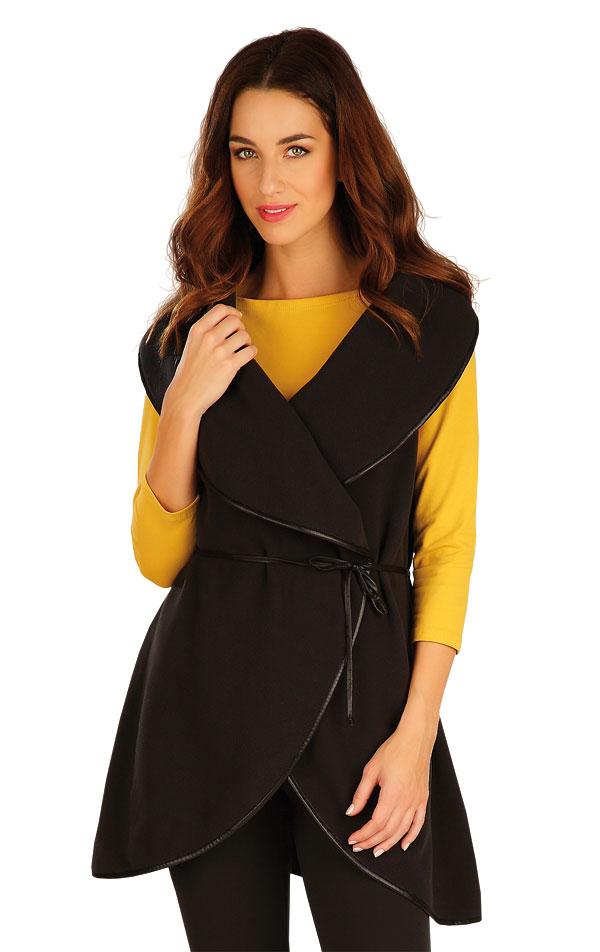 Fleecová vesta dámska dlhá. 60520 | Vesty a bundy LITEX