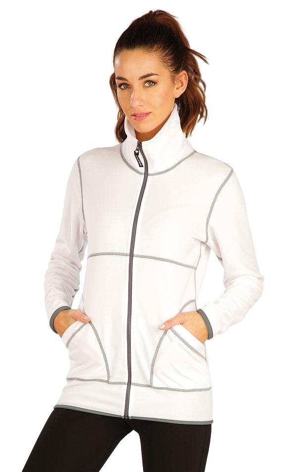 Fleecová mikina dámska na zips. 60535 | Vesty a bundy LITEX