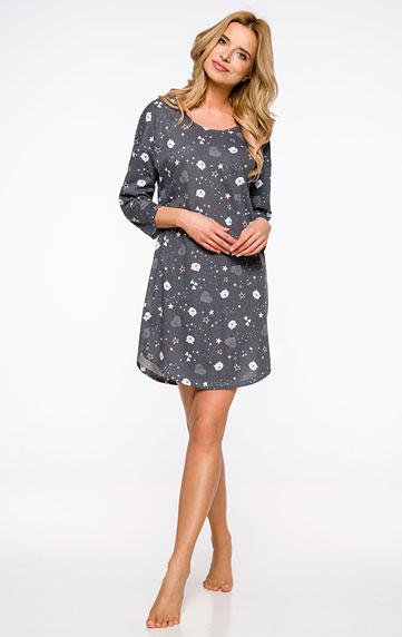 Pyžamá, nočné košele > Dámska nočná košieľka s 3/4 rukávom. 60610