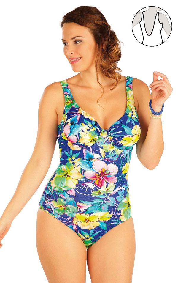 Jednodielne plavky s kosticami. 63247 | Jednodielne plavky LITEX