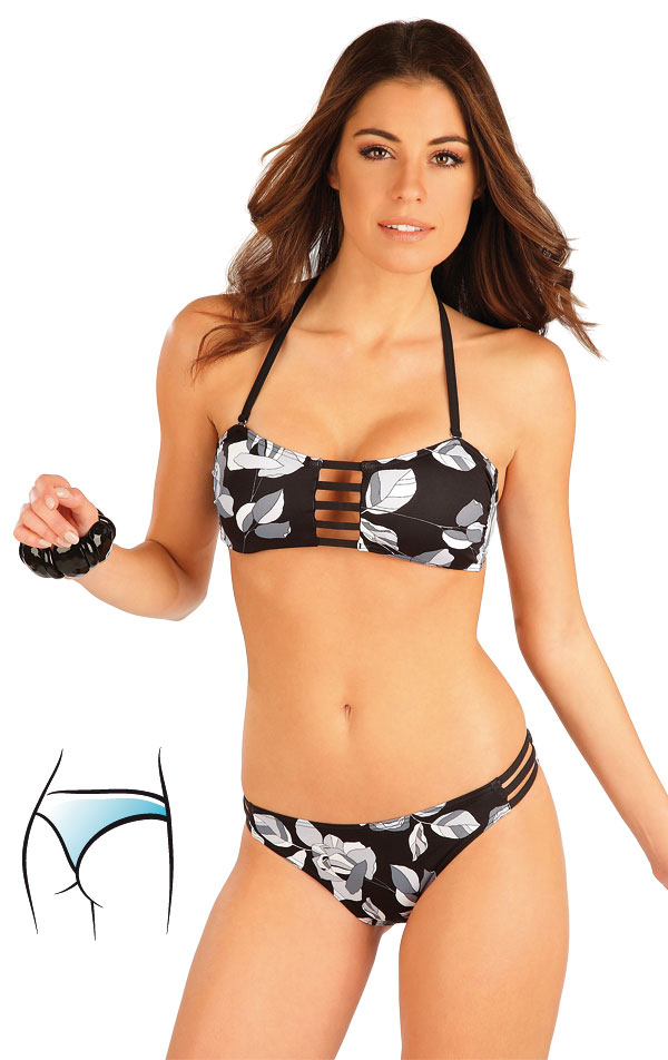Plavkové nohavičky string bokové. 63297   Dvojdielne plavky LITEX