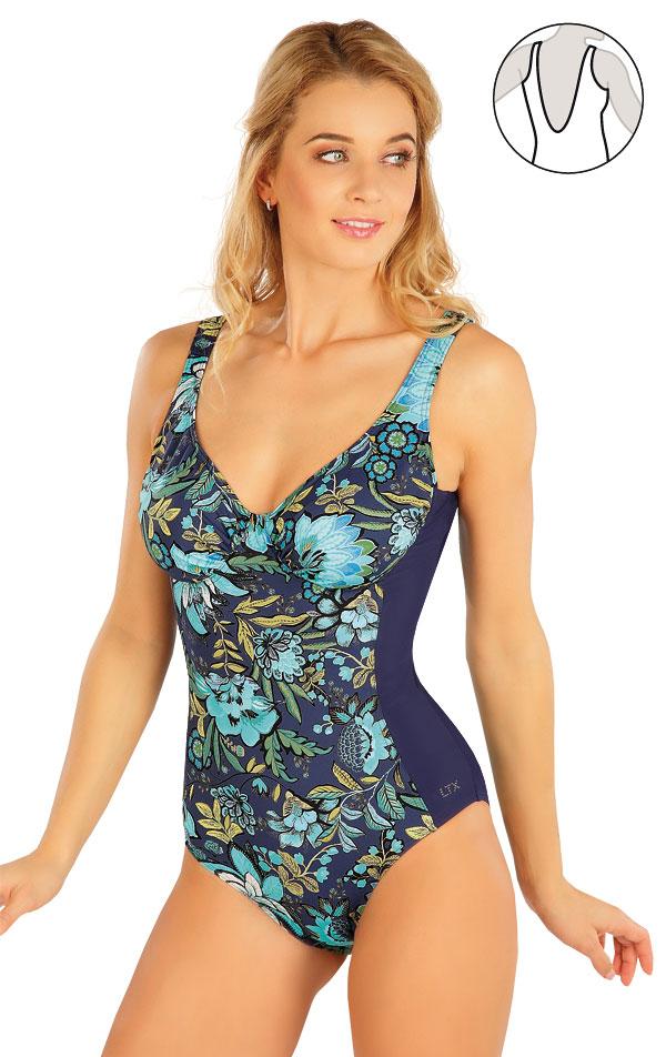 Jednodielne plavky s kosticami. 63323 | Jednodielne plavky LITEX