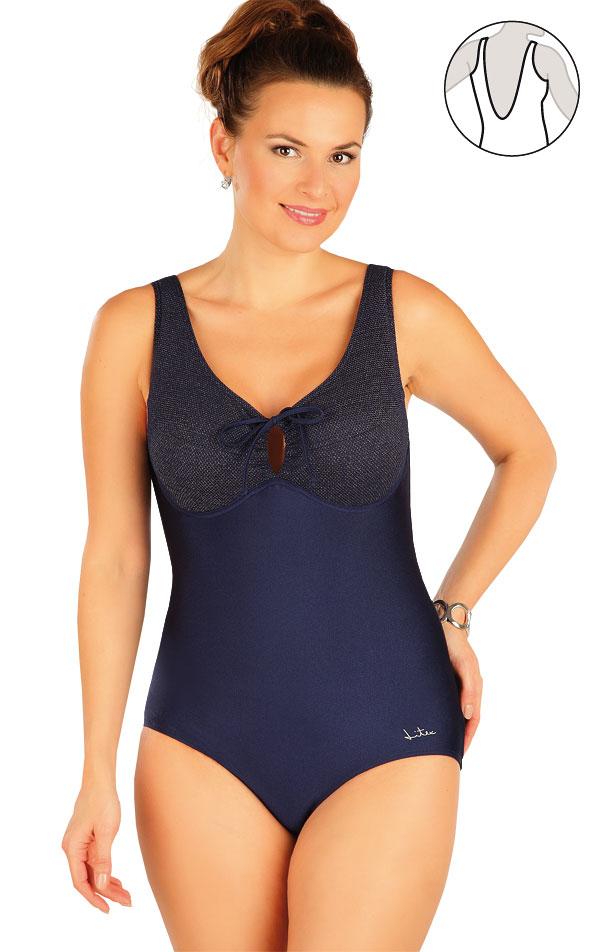 Jednodielne plavky s kosticami. 63409 | Jednodielne plavky LITEX