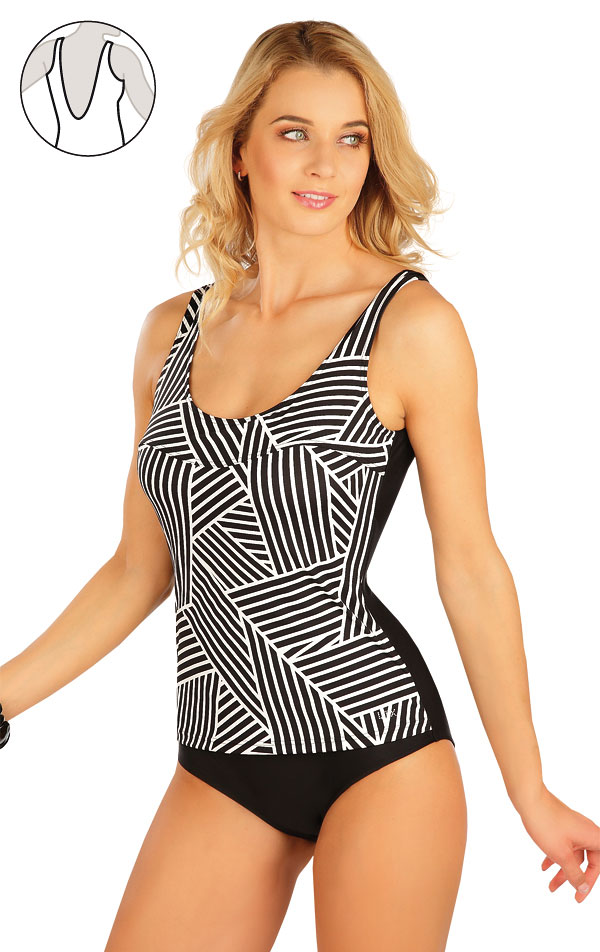 Jednodielne plavky s košíčkami. 63417 | Jednodielne plavky LITEX