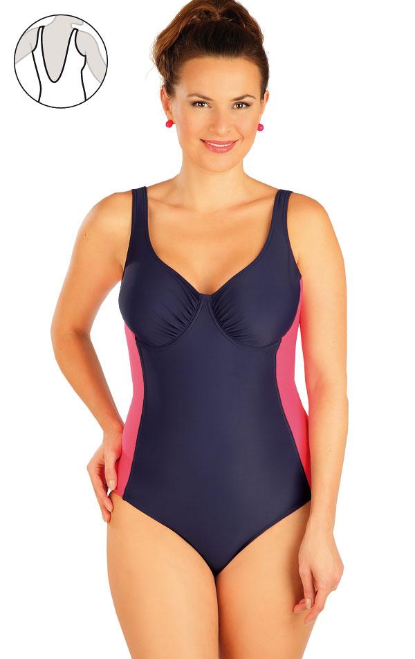 Jednodielne plavky s kosticami. 63476 | Jednodielne plavky LITEX