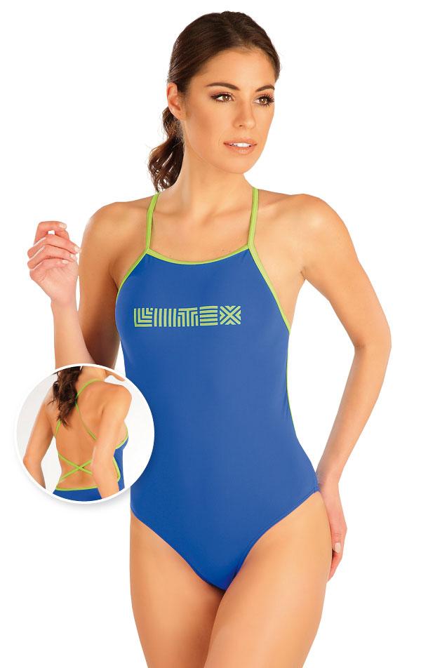 Jednodielne športové plavky. 63524   Športové plavky LITEX