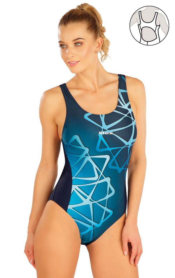 Jednodielne športové plavky. 63527 | Športové plavky LITEX