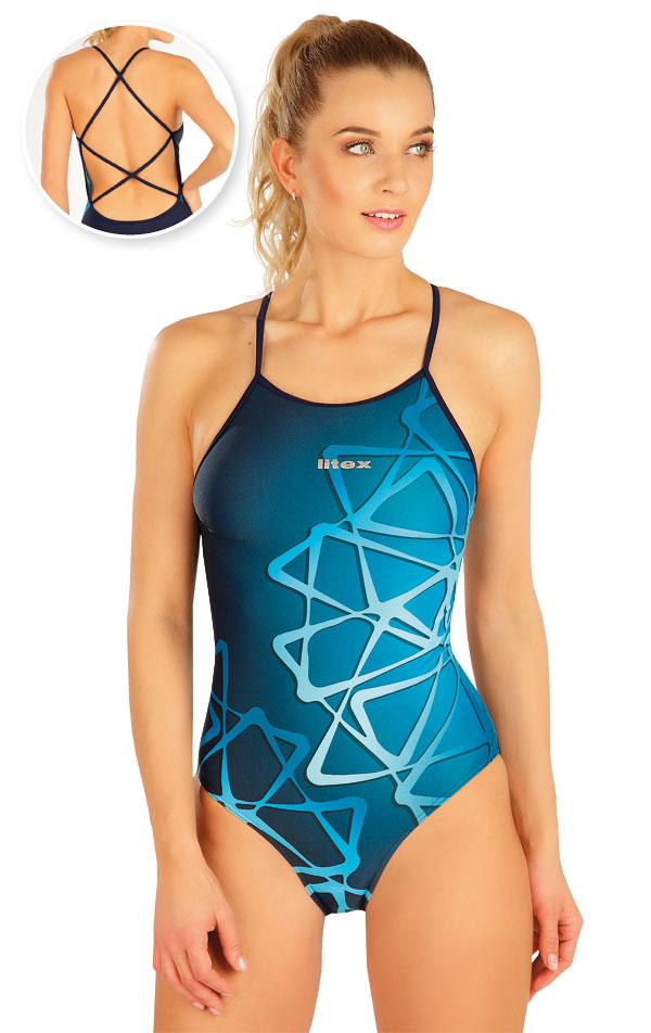 Jednodielne športové plavky. 63528 | Športové plavky LITEX