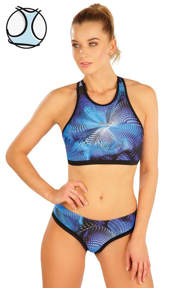 Plavkový športový top bez výstuže. 63531 | Športové plavky LITEX