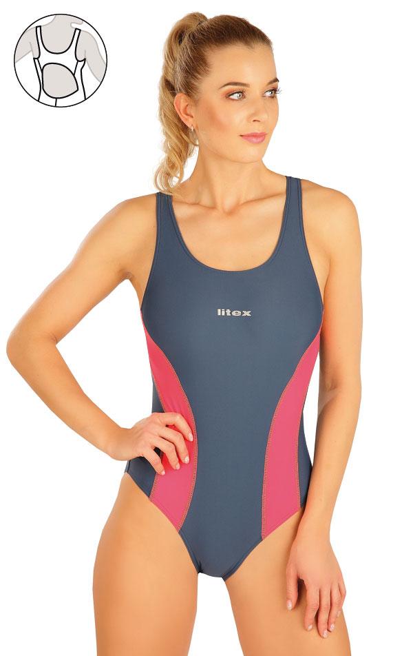 Jednodielne športové plavky. 63542 | Športové plavky LITEX