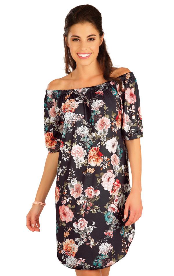 Šaty dámske s krátkym rukávom. 63567 | Plážové doplnky LITEX