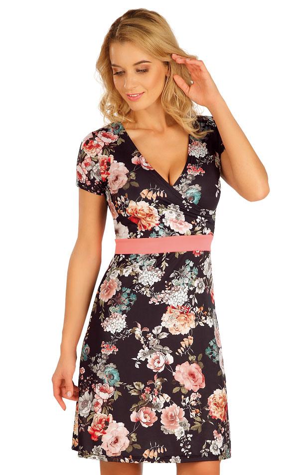 Šaty dámske s krátkym rukávom. 63571 | Plážové doplnky LITEX