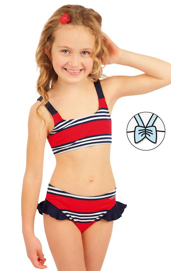 Plavkový top dievčenský. 63605 | Dievčenské plavky LITEX
