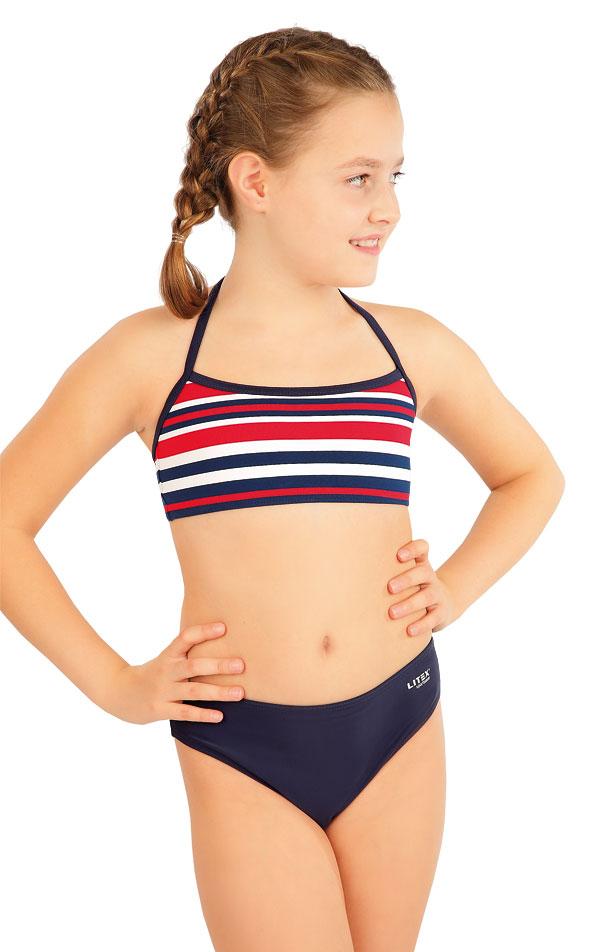 Dievčenské plavkové nohavičky stredne vysoké. 63608 | Dievčenské plavky LITEX