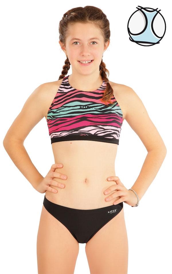 Plavkový top dievčenský. 63611 | Dievčenské plavky LITEX