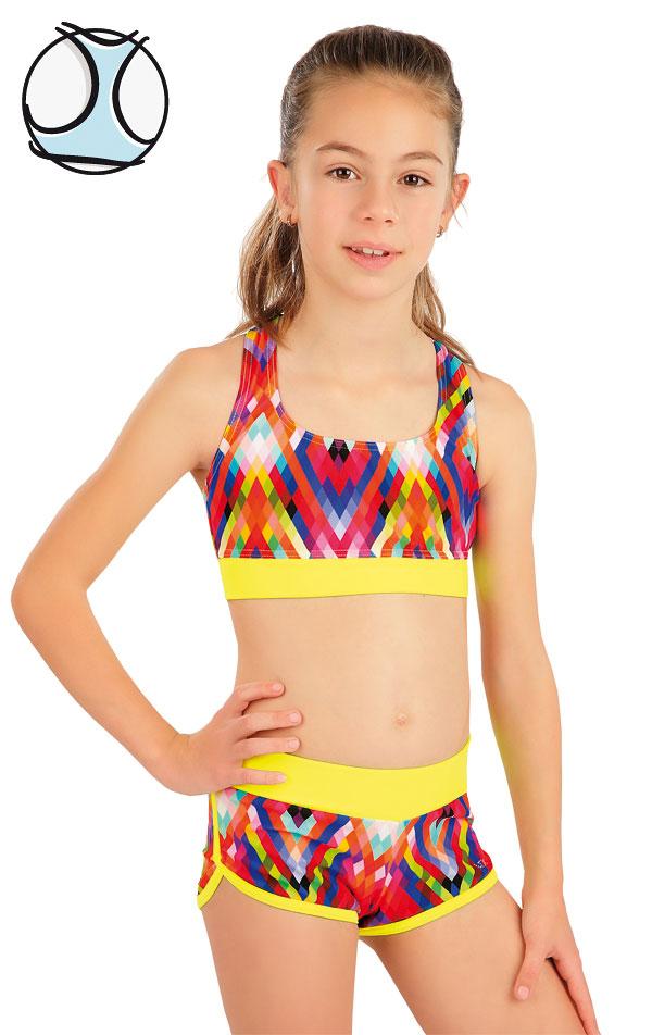 Plavkový top dievčenský. 63620 | Dievčenské plavky LITEX