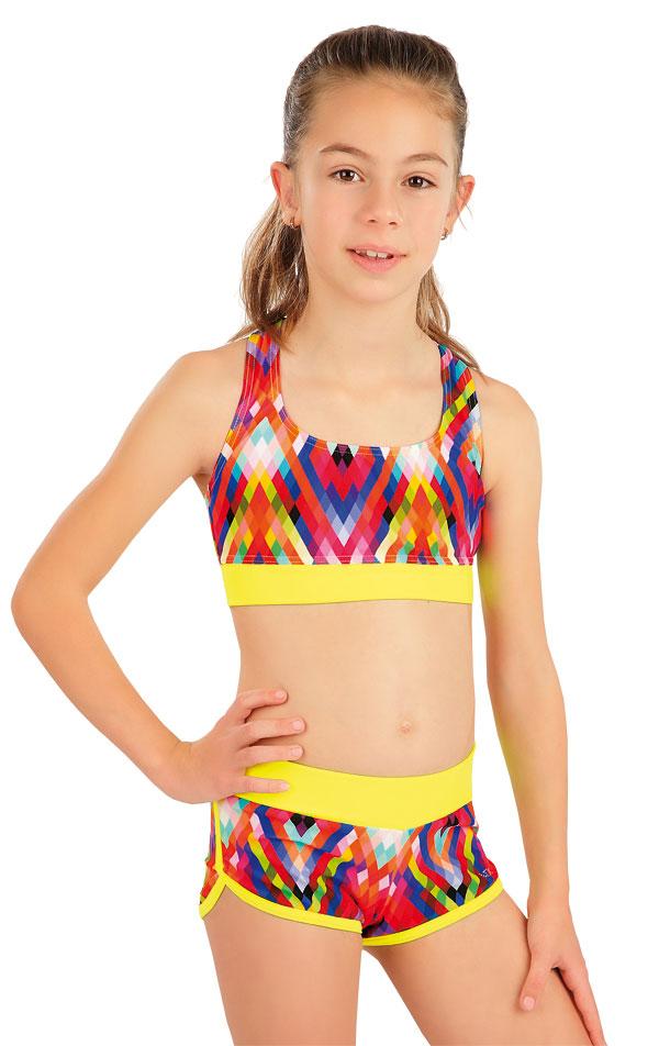 Dievčenské plavkové kraťasy. 63621 | Dievčenské plavky LITEX