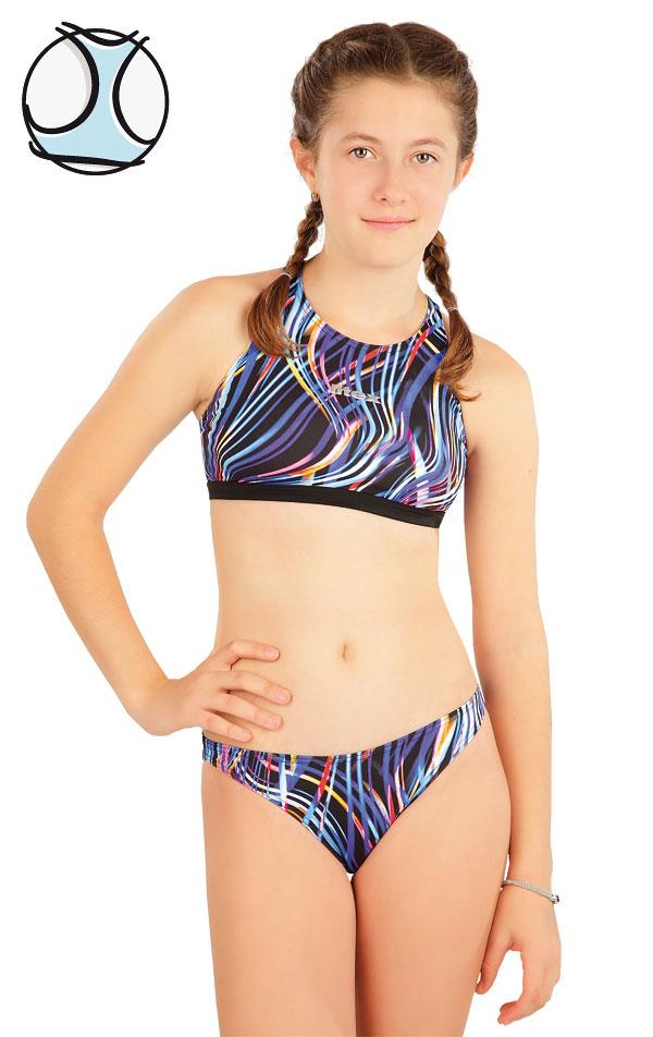 Plavkový top dievčenský. 63630 | Dievčenské plavky LITEX