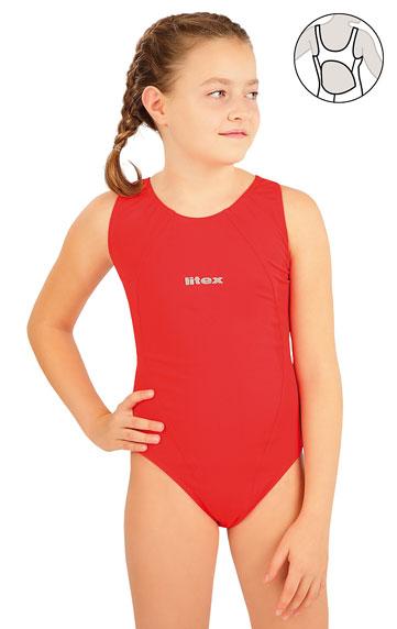 Dievčenské plavky > Dievčenské jednodielne športové plavky. 63640
