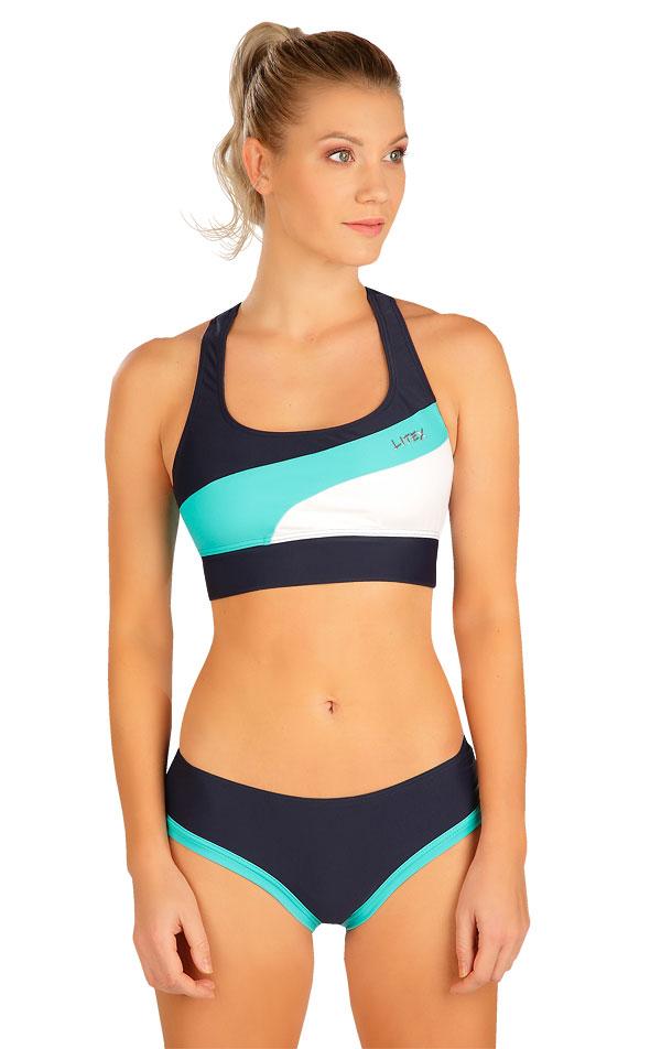 Plavkový športový top bez výstuže. 6B295 | Športové plavky LITEX
