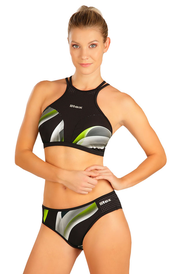Plavkový top dámsky. 6B333   Športové plavky LITEX