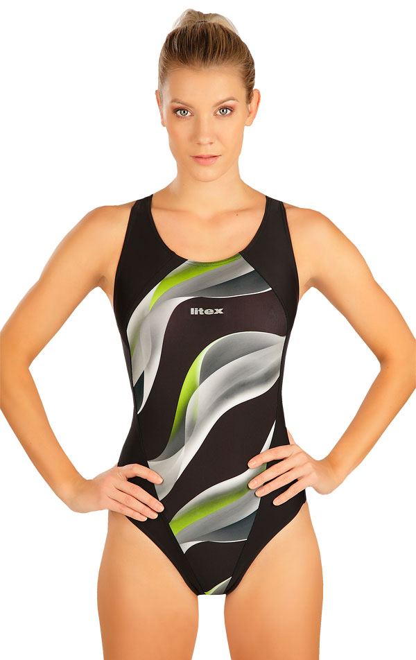 Jednodielne športové plavky. 6B336   Športové plavky LITEX
