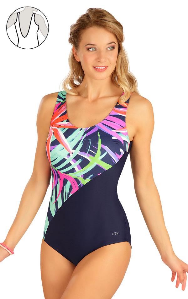 Jednodielne plavky s košíčkami. 6B350 | Jednodielne plavky LITEX