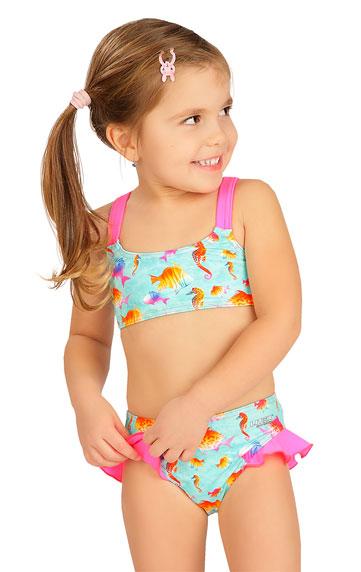 Plavkový top dievčenský.