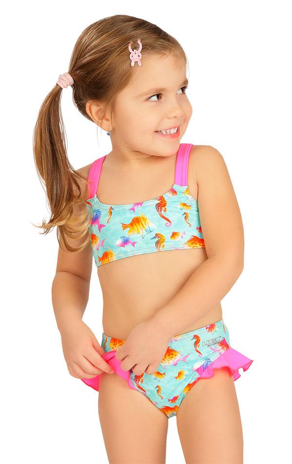 Dievčenské plavkové nohavičky. 6B405   Dievčenské plavky LITEX