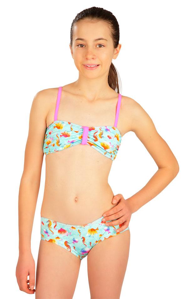 Dievčenská plavková podprsenka BANDEAU. 6B408 | Dievčenské plavky LITEX
