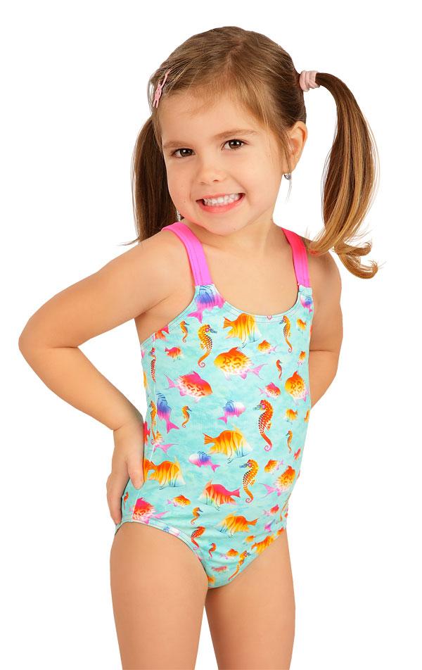Jednodielne dievčenské plavky. 6B410 | Dievčenské plavky LITEX