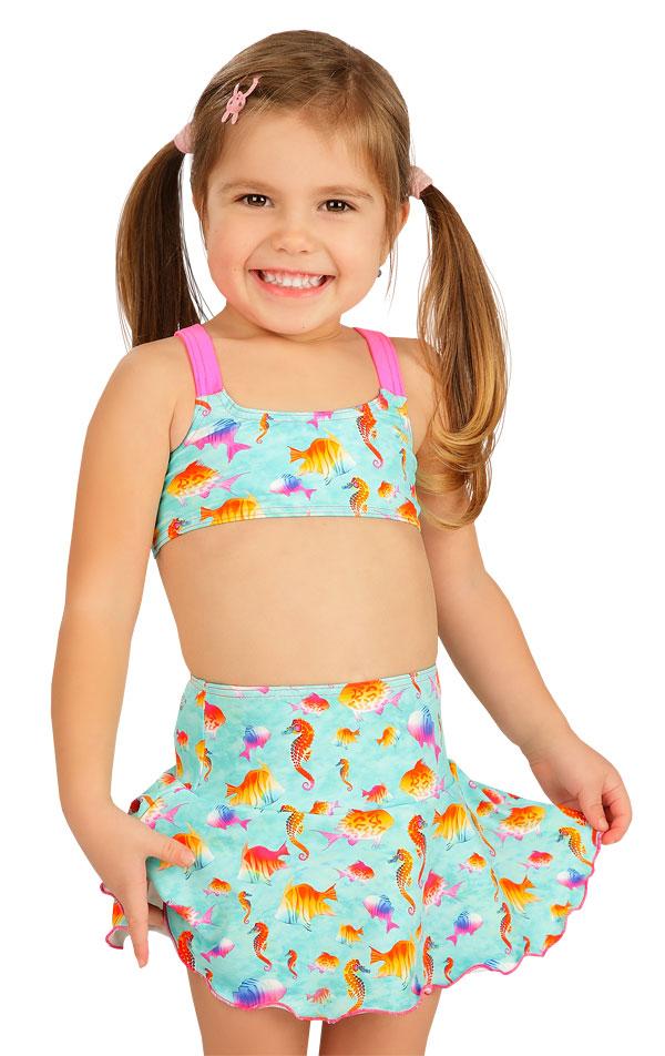 Dievčenská sukňa. 6B412   Dievčenské plavky LITEX