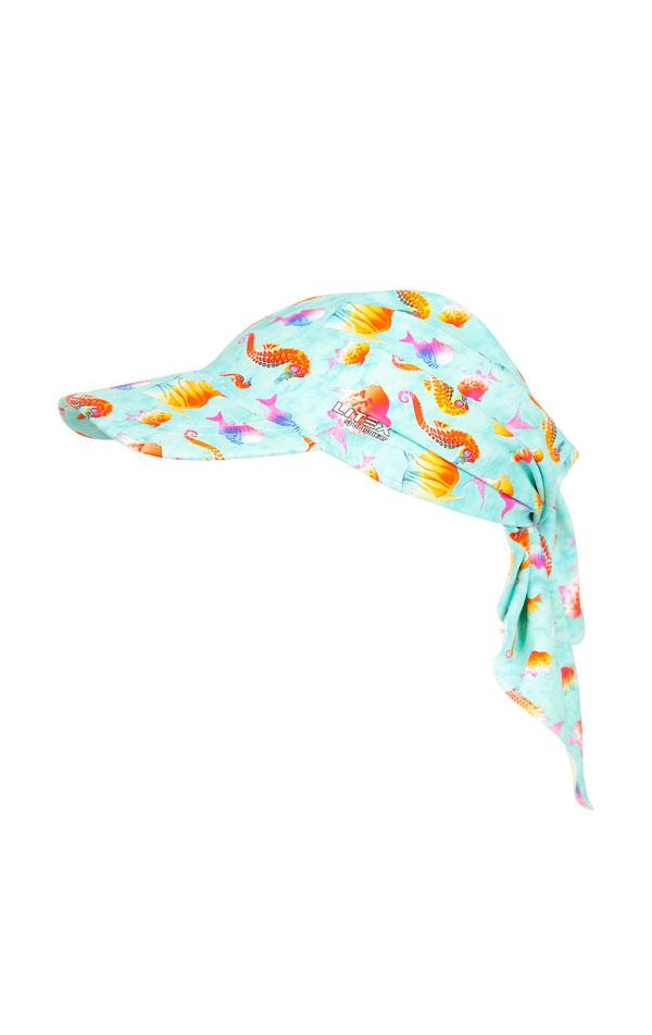 Detská šatka so šiltom. 6B413 | Dievčenské plavky LITEX
