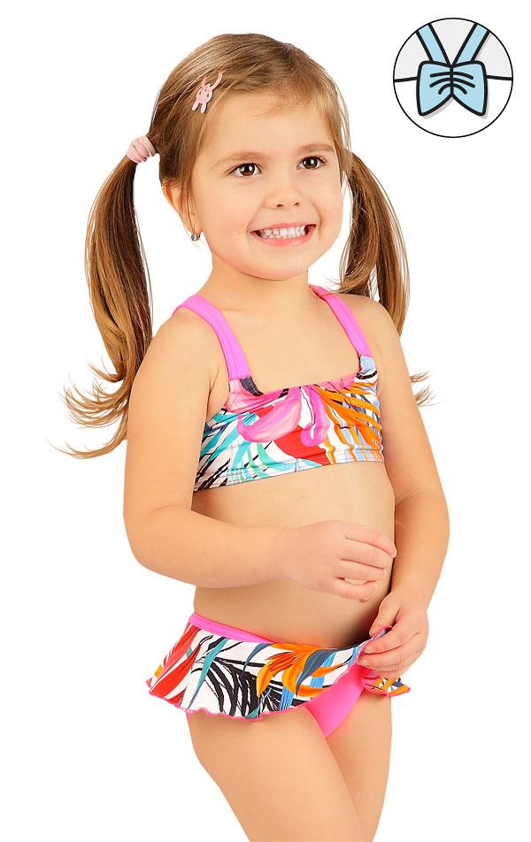 Plavkový top dievčenský. 6B416 | Dievčenské plavky LITEX
