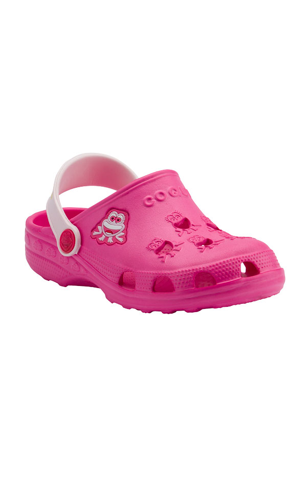 Detské sandále COQUI LITTLE FROG. 6B600   Plážová obuv LITEX