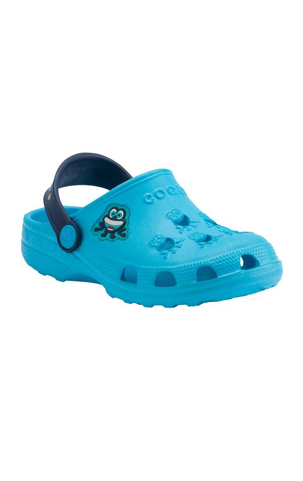 Detské sandále COQUI LITTLE FROG. 6B601   Plážová obuv LITEX
