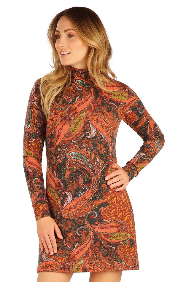 Šaty dámske s dlhým rukávom. 7A013 | Šaty, sukne, tuniky LITEX