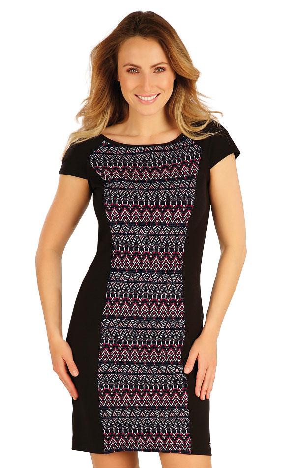Šaty dámske s krátkym rukávom. 7A041 | Šaty, sukne, tuniky LITEX