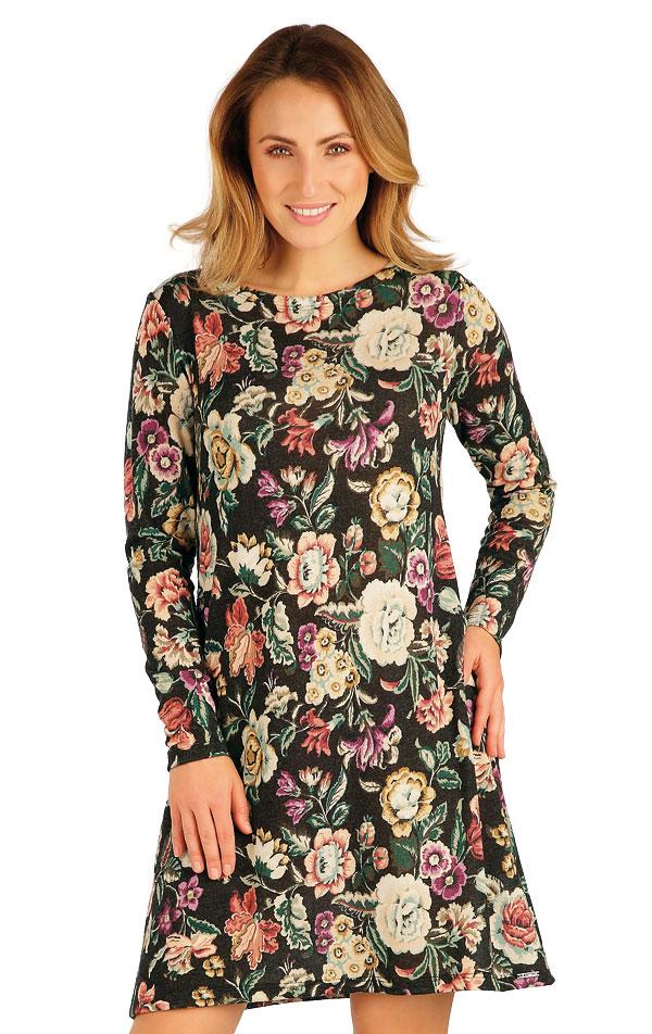 Šaty dámske s dlhým rukávom. 7A051 | Šaty, sukne, tuniky LITEX
